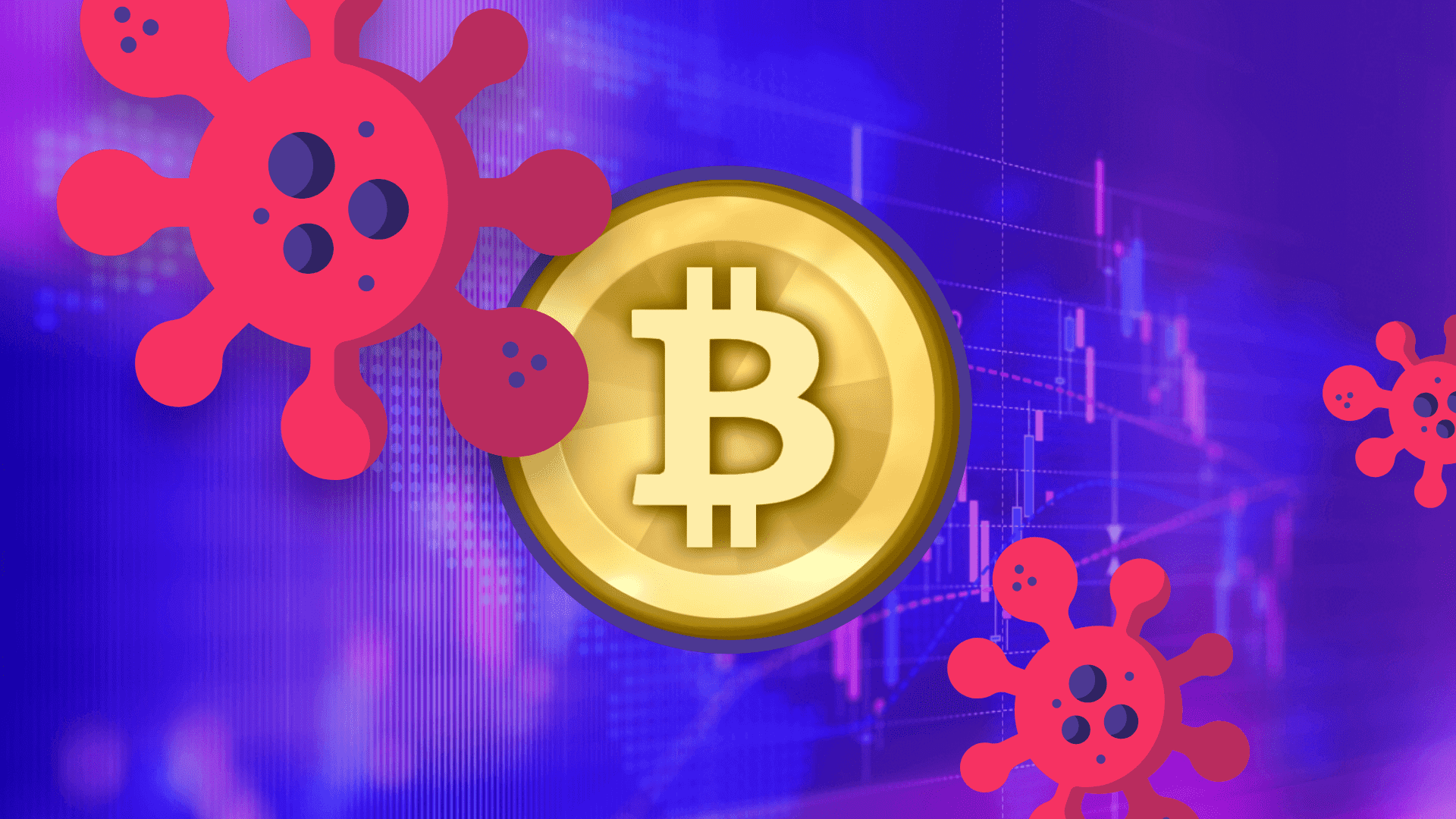 Coronavirus influence on bitcoin